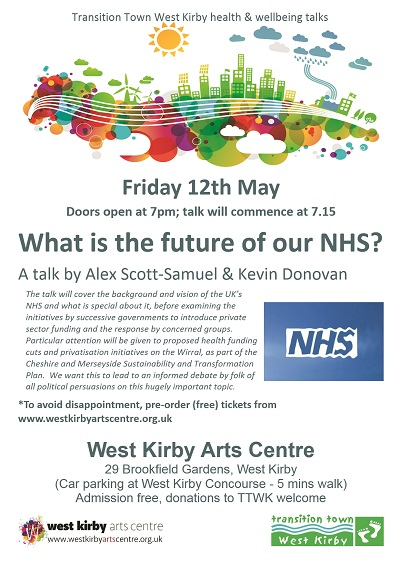 What is the future of our NHS poster